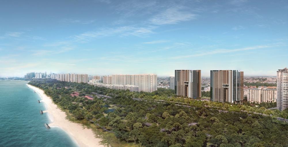 seaside residences land site