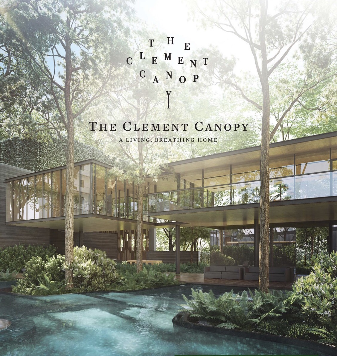 The Clement Canopy showflat Location