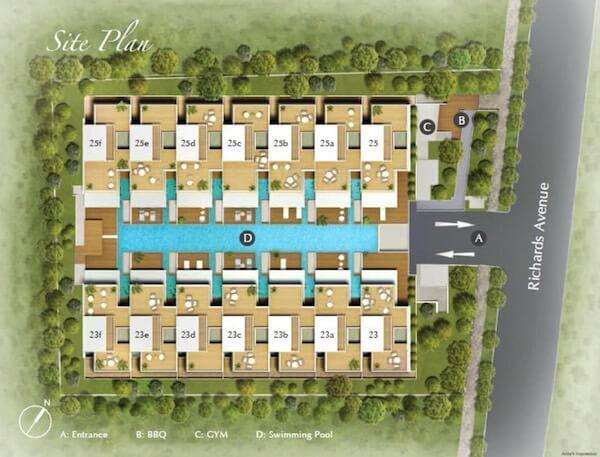 Infinium Site Plan