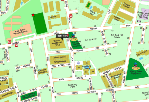 Kismis Residences Location