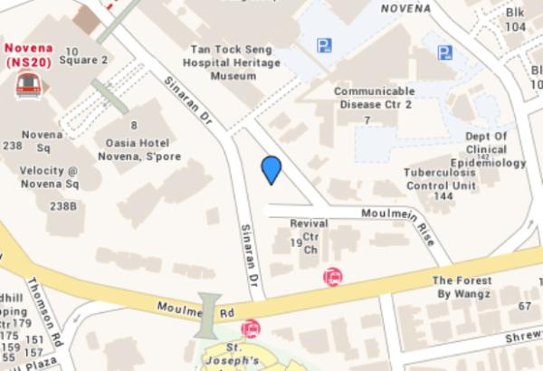 Moulmein 27 Location