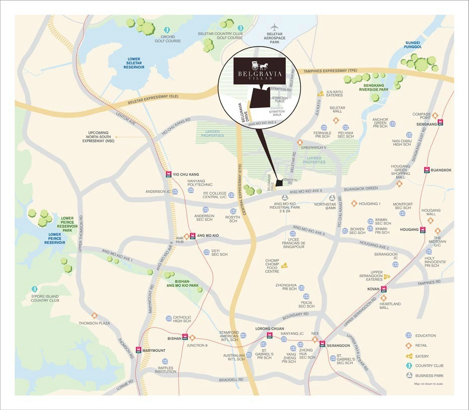 Belgravia Villas showflat Location