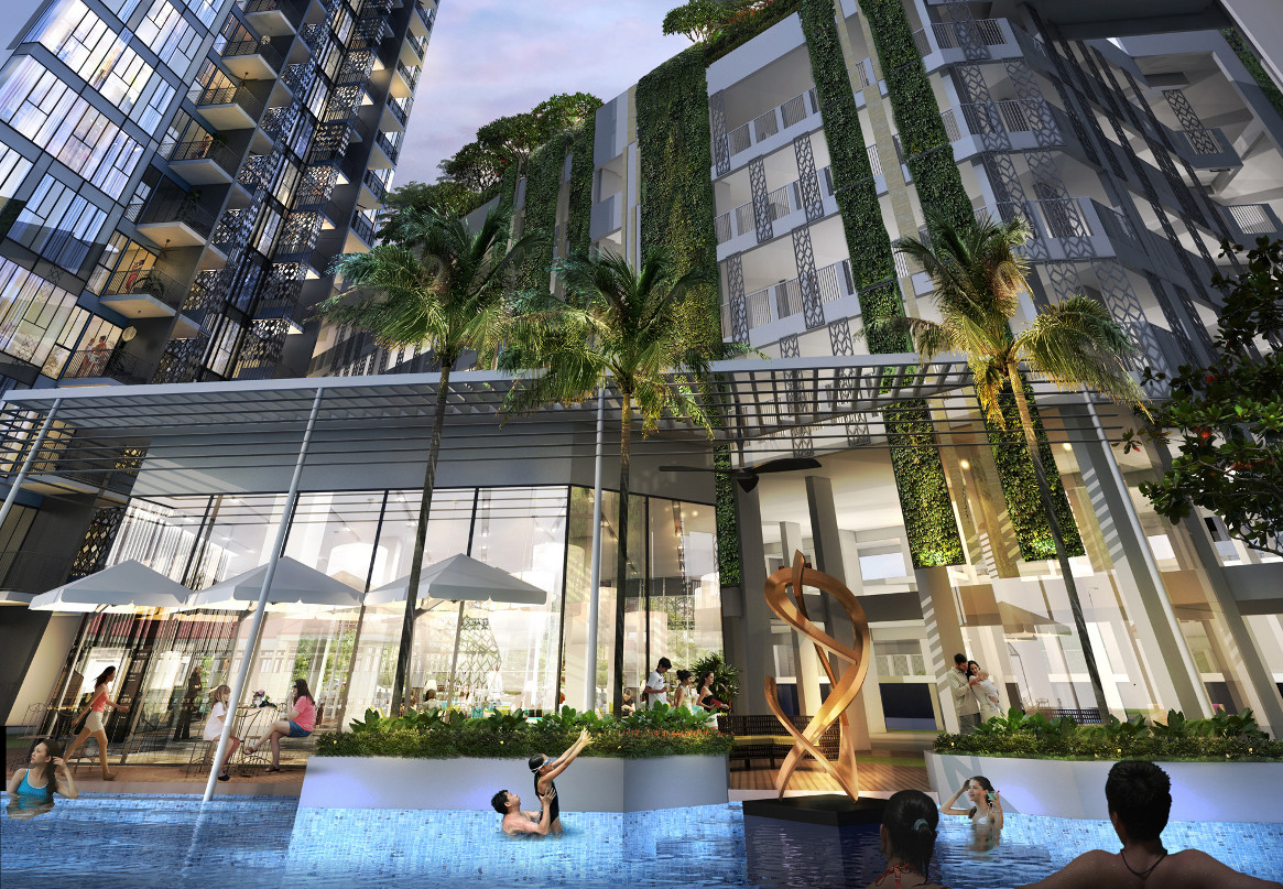 Gem Residences showflat Location site