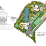 site plan gem residence