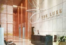 Luxe lobby
