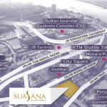 Suasana Iskandar location map