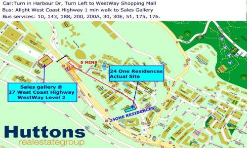 24 One Residences surroundings