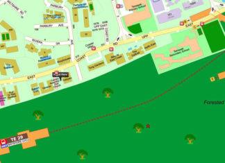 494 Upper East Coast Road New Condo Location Map