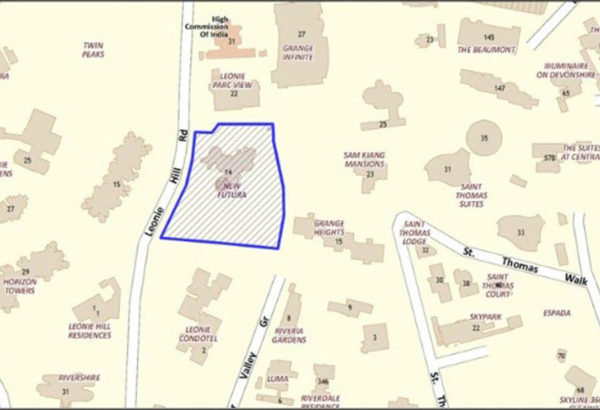 New Futura Location Map