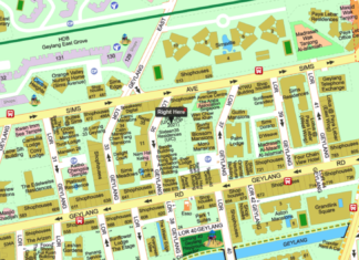 Rezi 35 at Lor 35 Geylang location map