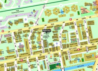 Rezi 35 at Lor 35 Geylang location map