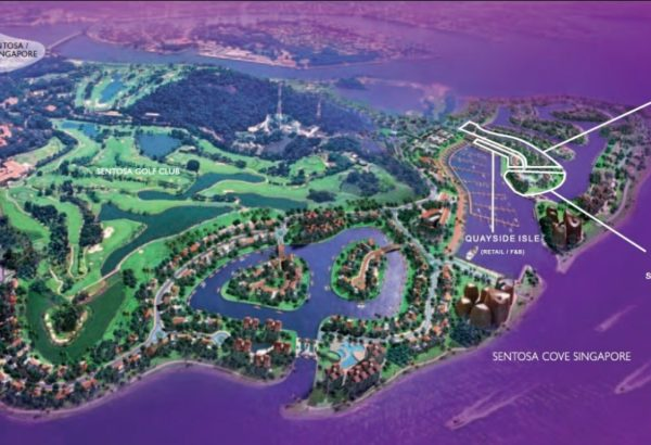The Residences At W Singapore Sentosa Cove Location Map