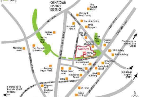 Wallich Residences Location