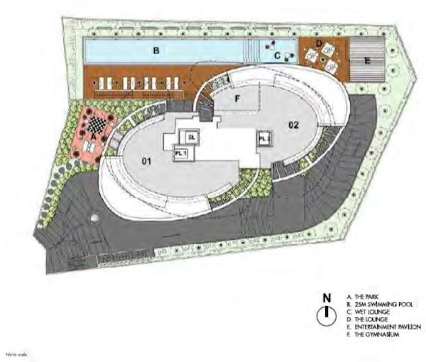 iLiv @ Grange Site Plan