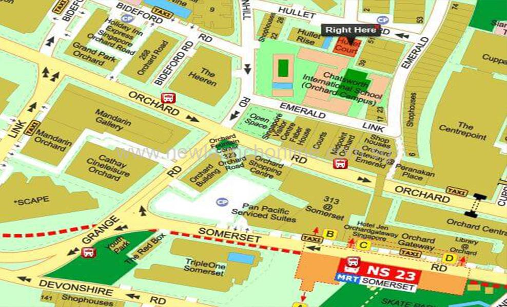 8 Hullet Road New Condo Freehold Onesgshowflat-Map