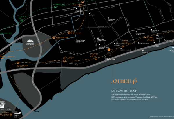 Amber 45 location map