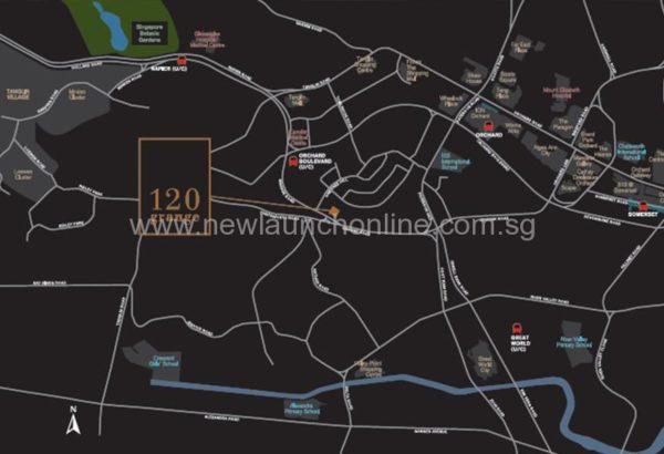 Grange 120 location