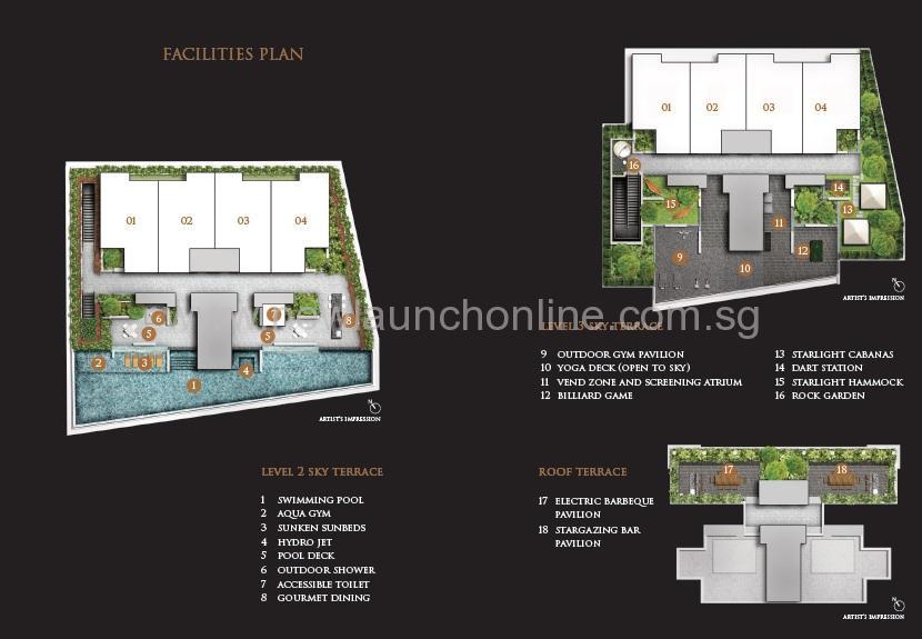 Grange 120 site map