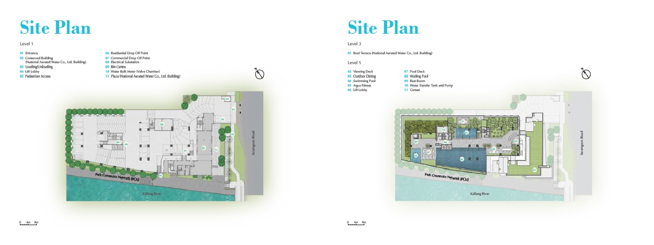 Jui Residences site map
