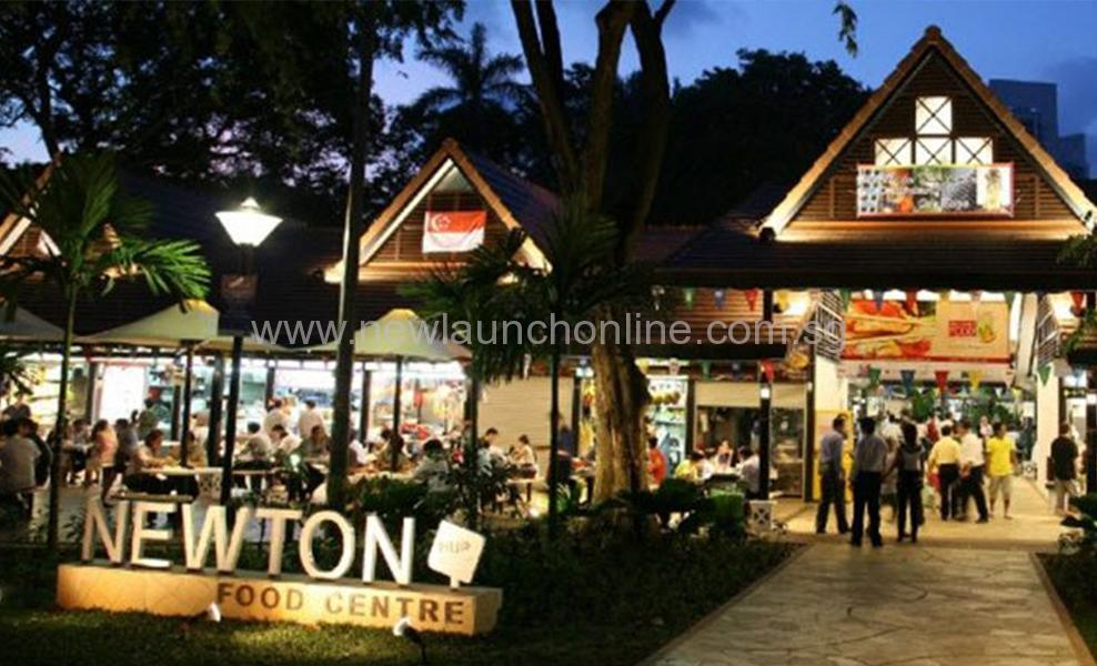 Newton Food Centre at Newton-Road-Muse