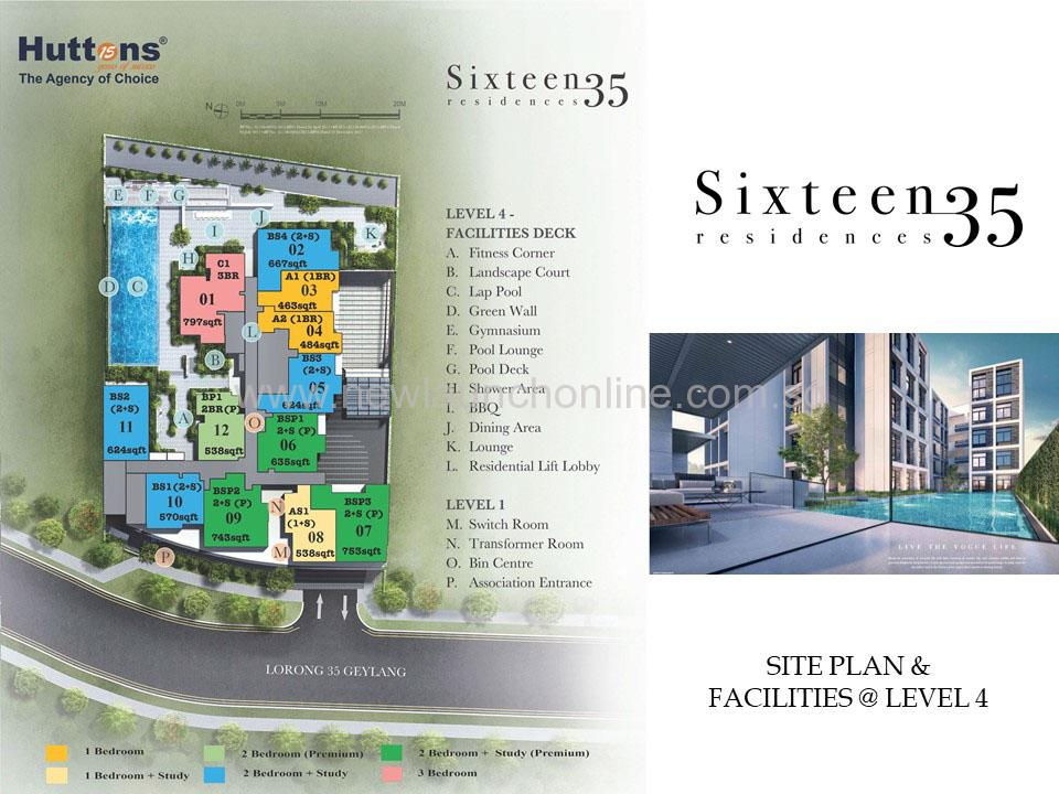 Sixteen 35 residences site plan