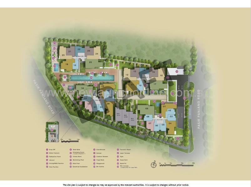 verandah residences Site Plan