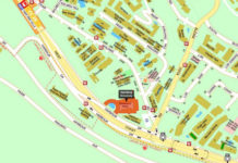 verandah residences location map