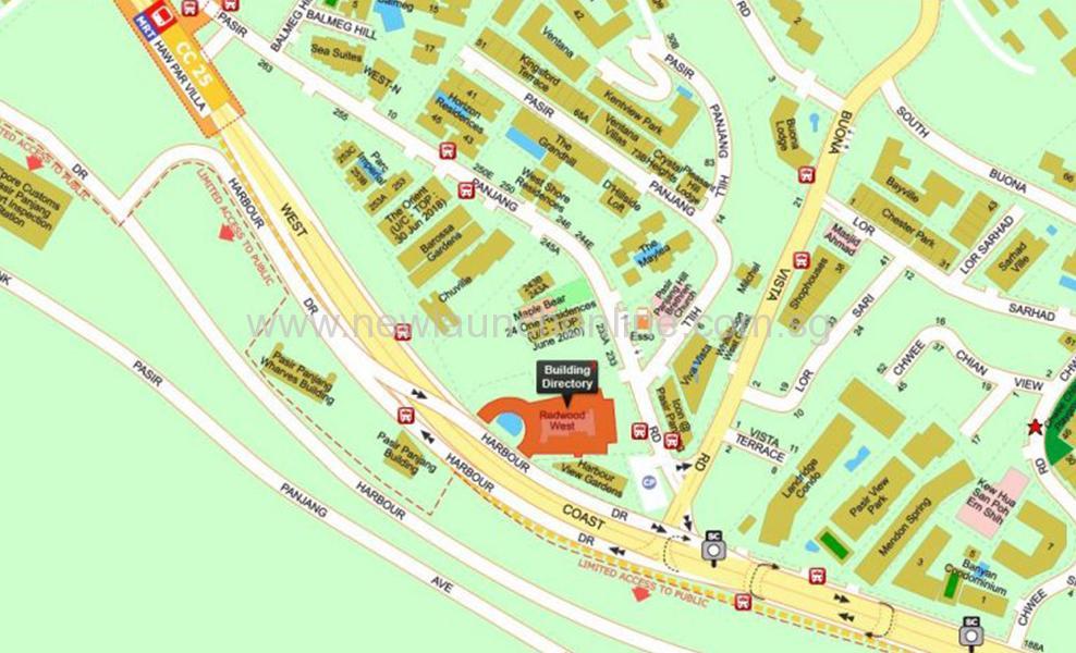 verandah residences location map