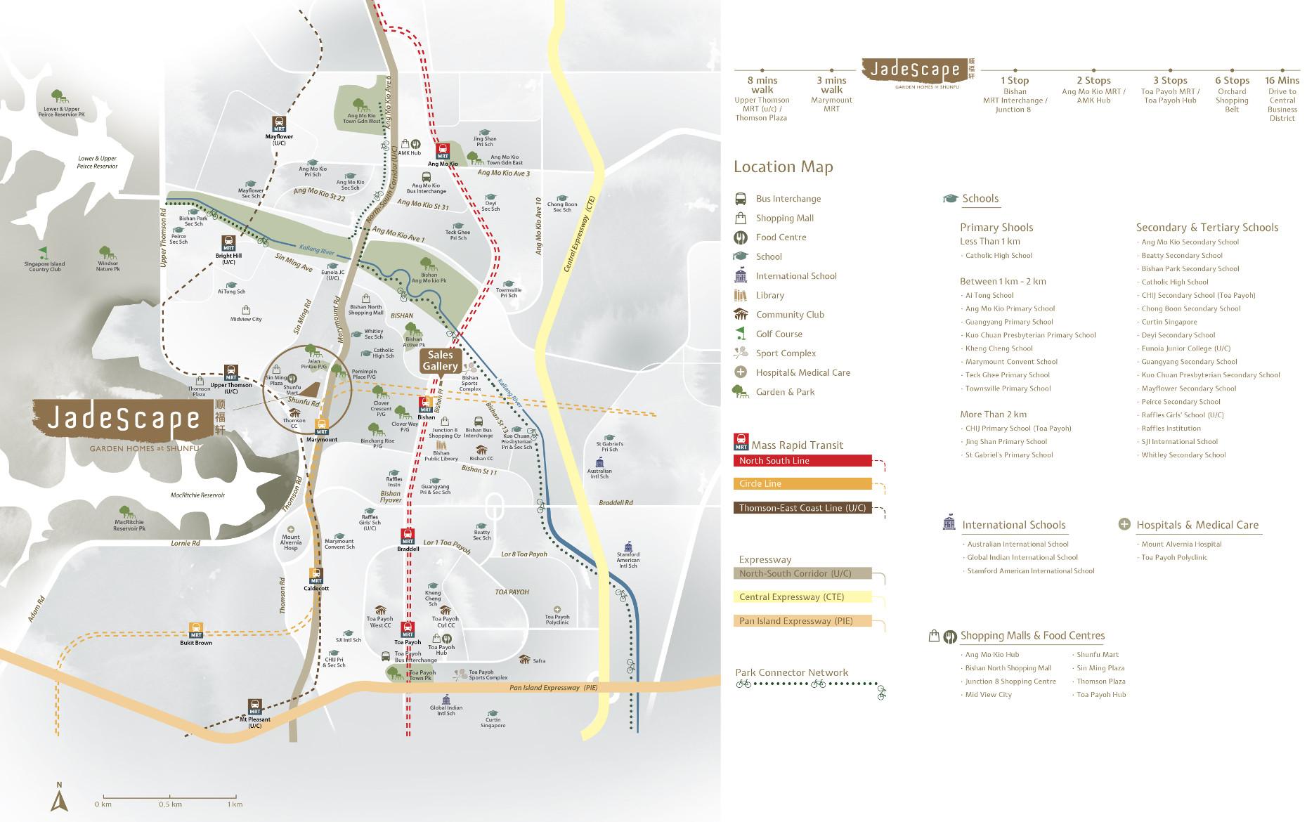 JadeScape Location Map