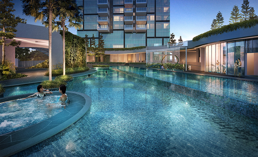 8 St Thomas Night pool