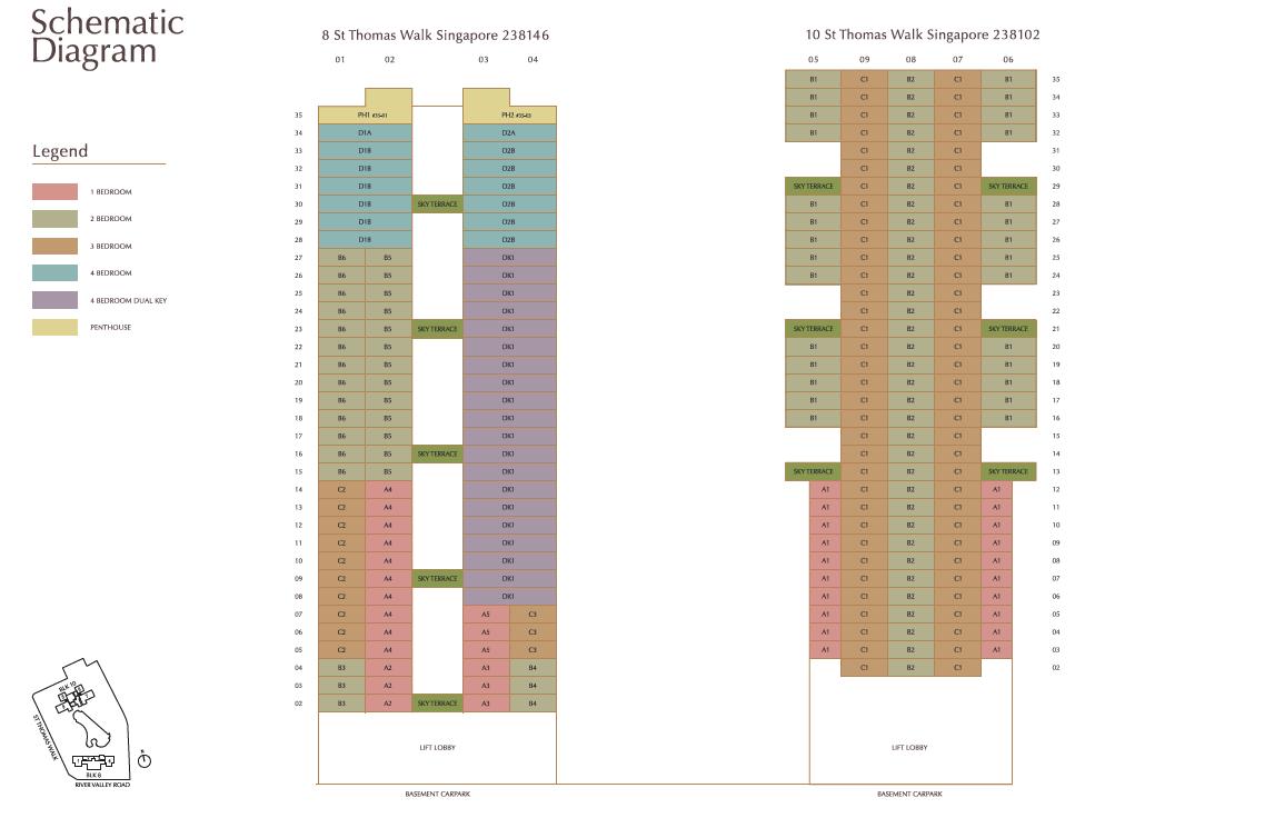 8 St Thomas Schematic Diagram