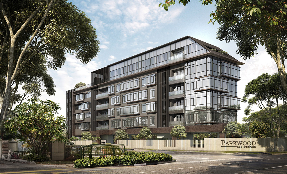 parkwood residences facade