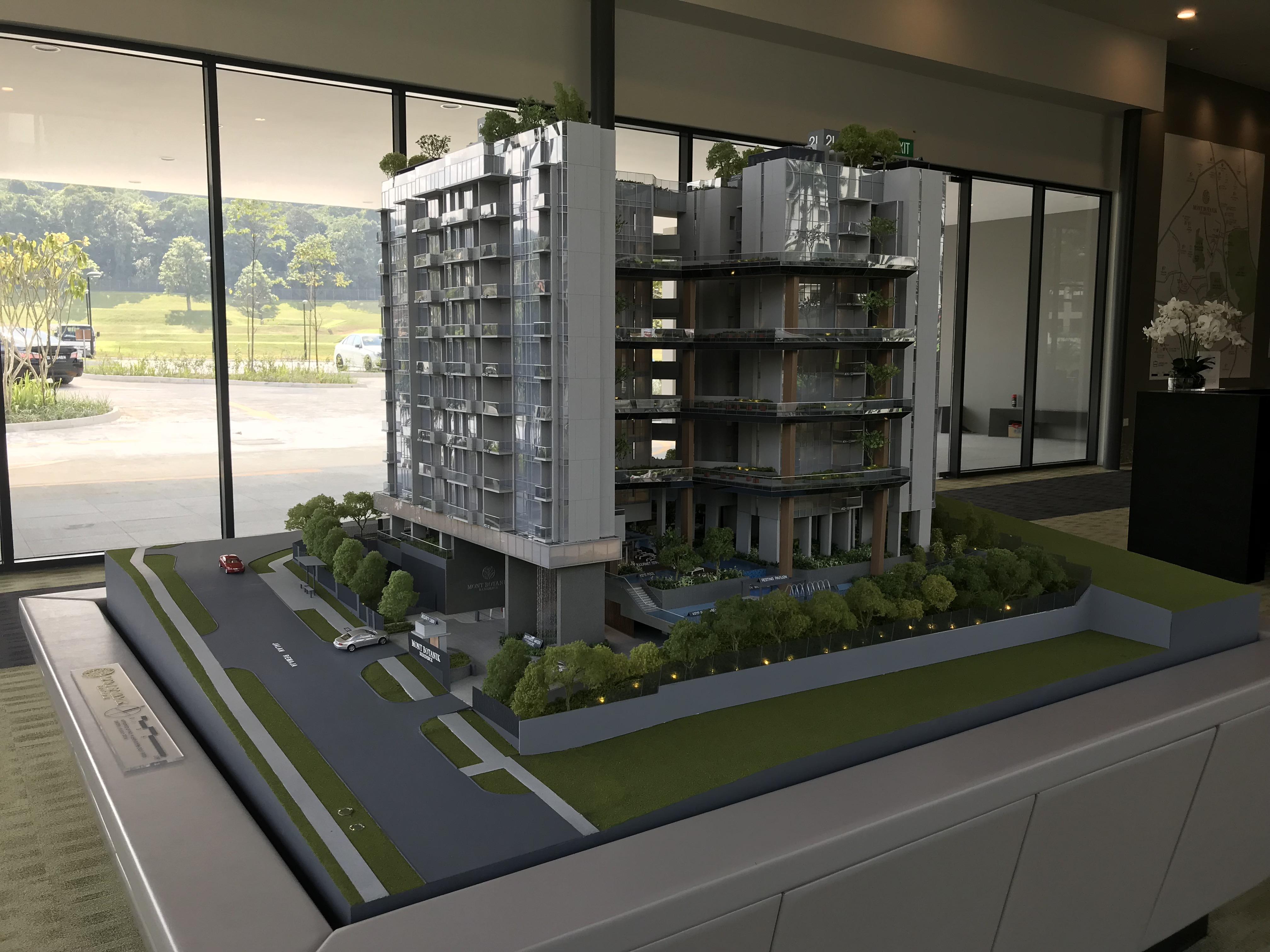 Mont Botanik Residence showflat model 1
