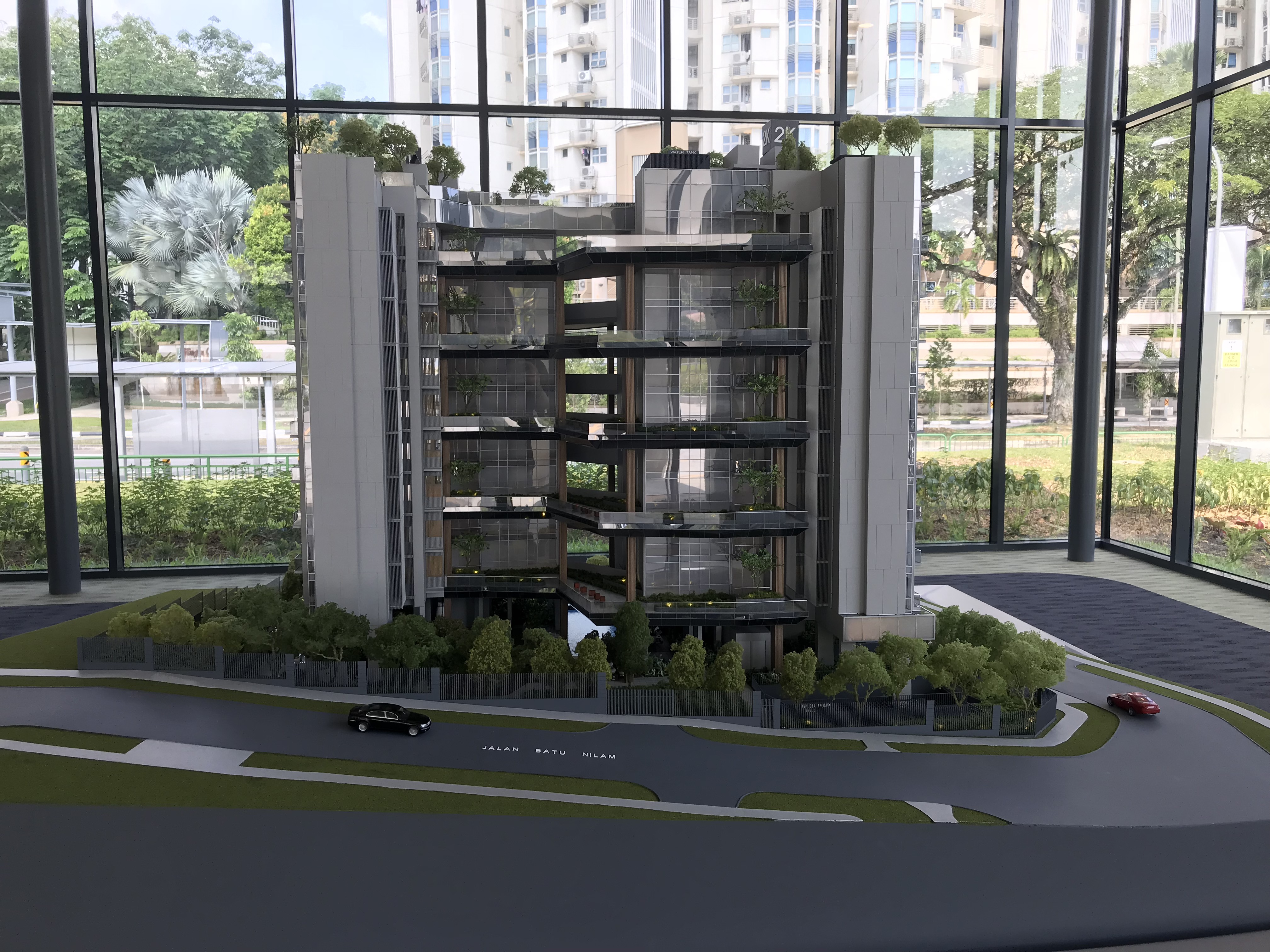 Mont Botanik Residence showflat model 2