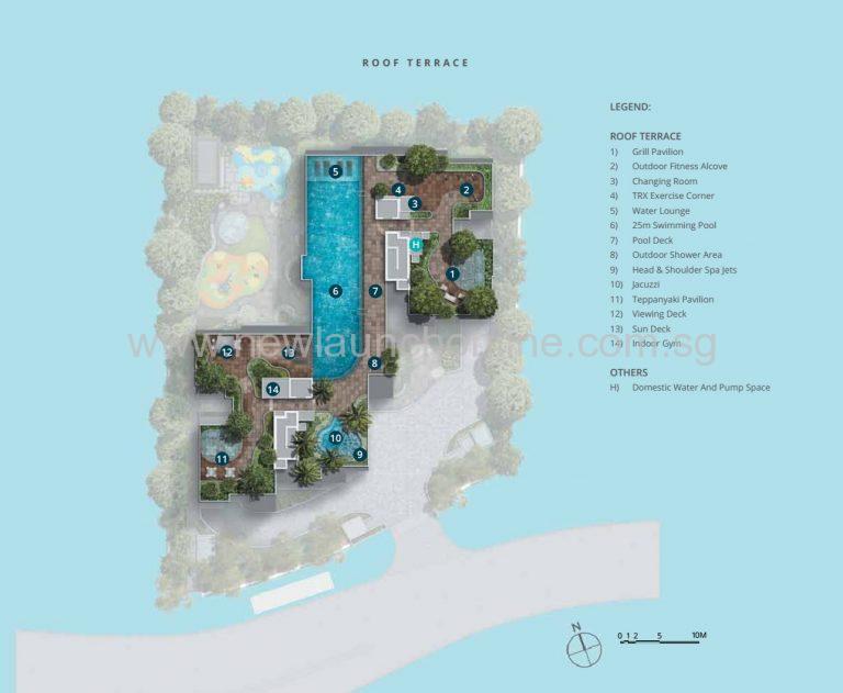 casa al mare site plan R
