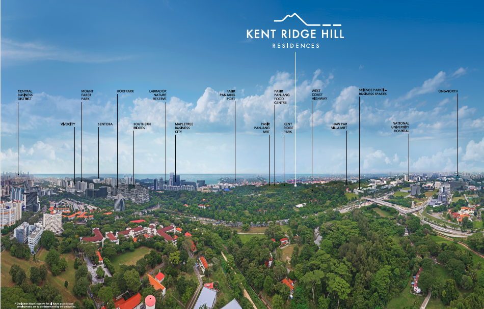 Kent Ridge Hill Residences panaromic view