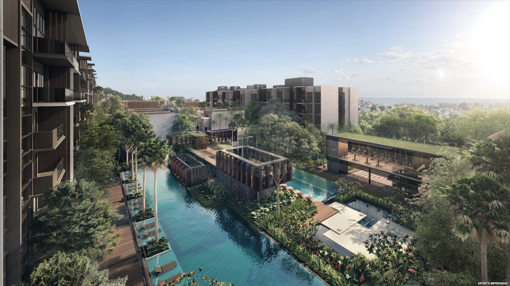 Kent Ridge Hill Residences pool