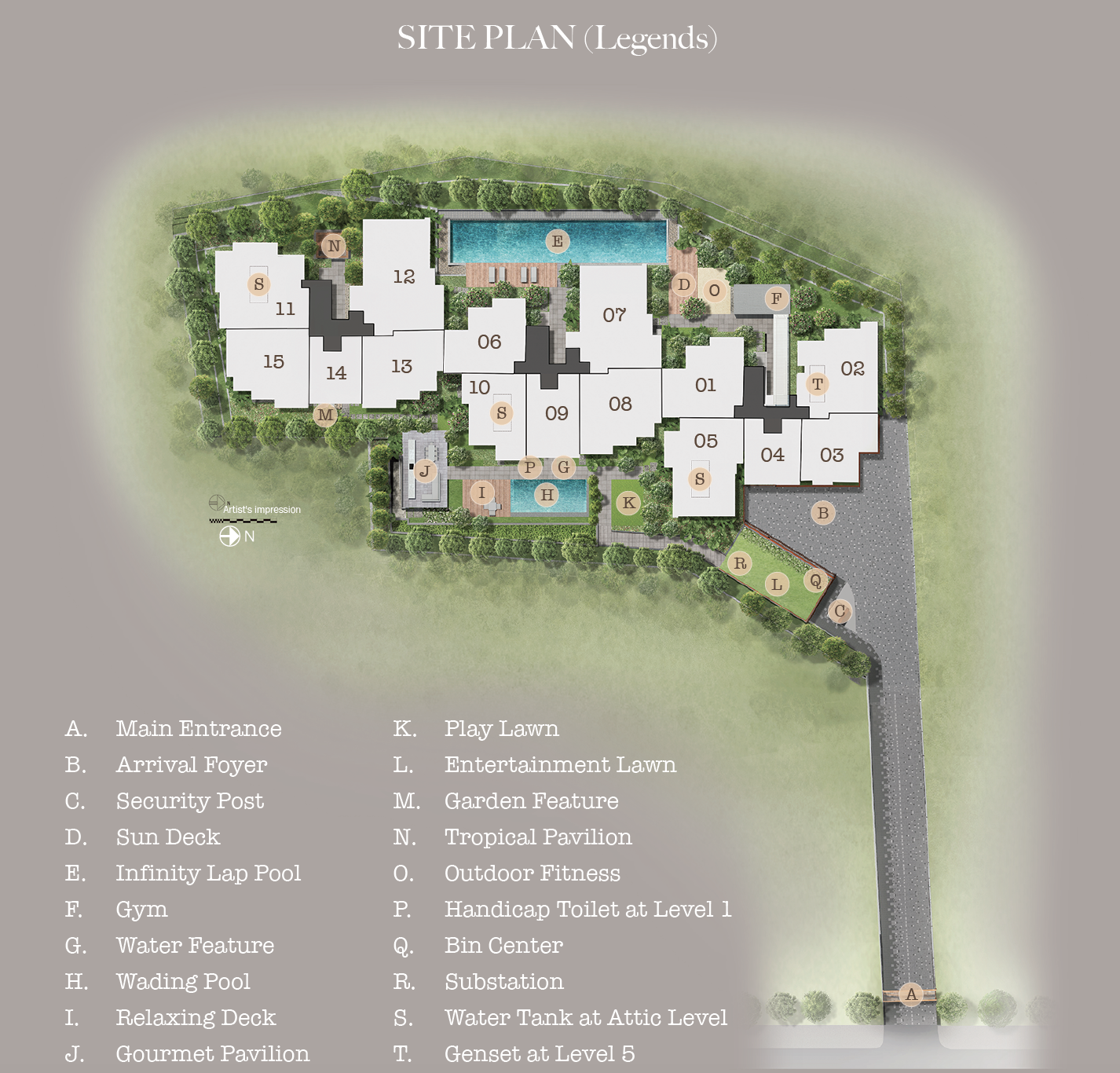 35 Gilstead site plan