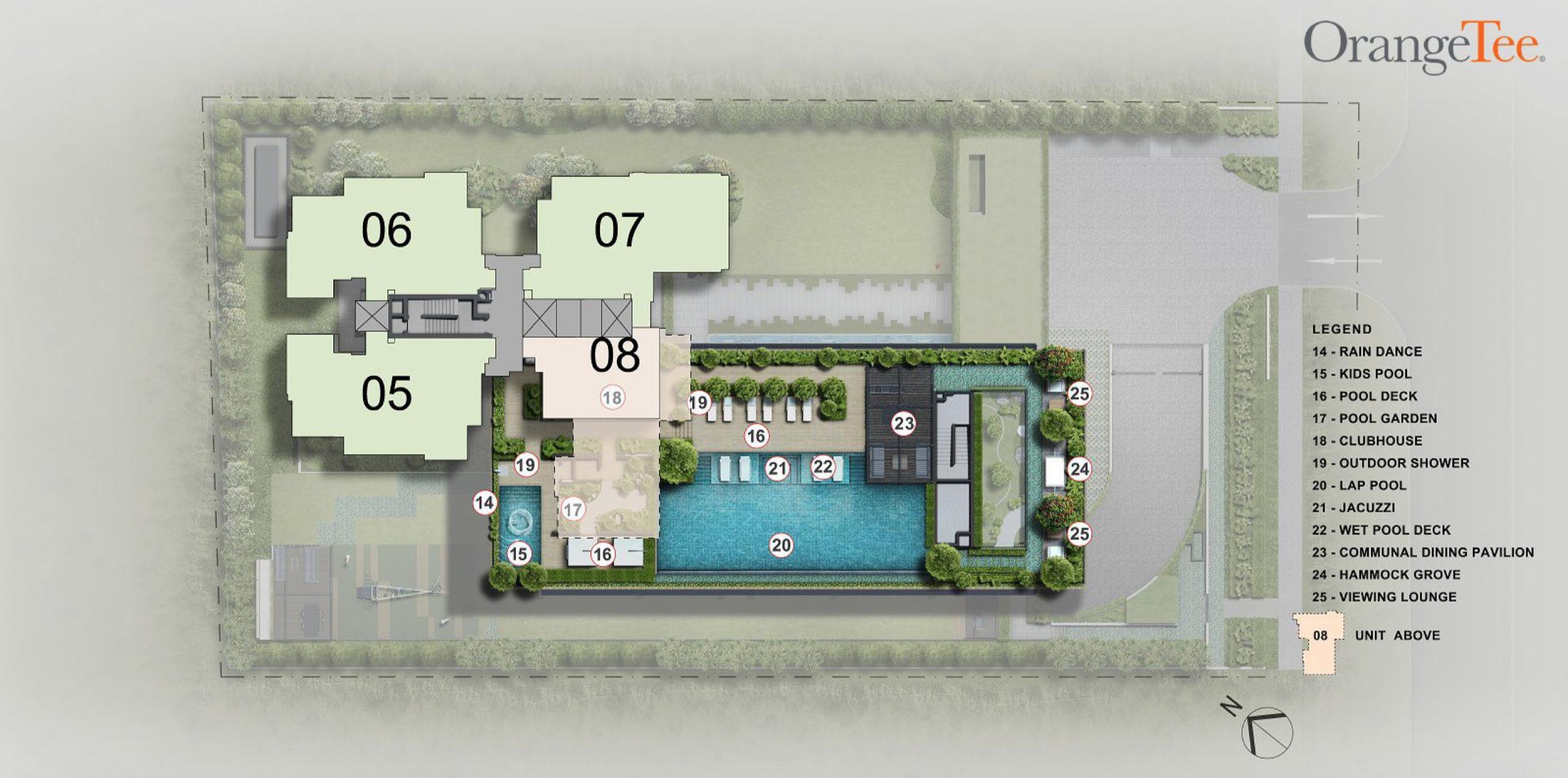 Sloane Residences siteplan