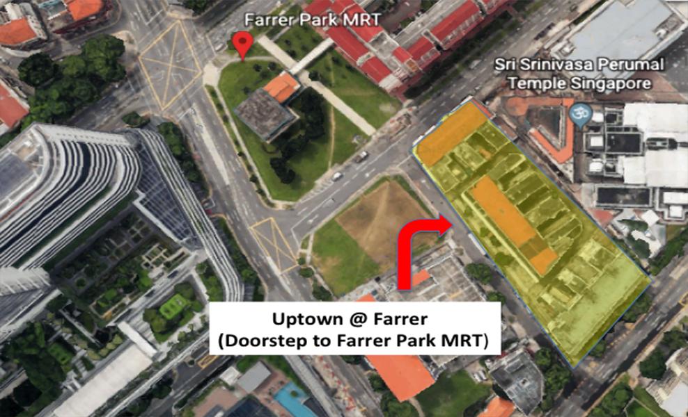 Uptown at Perumal near Farrer Park MRT