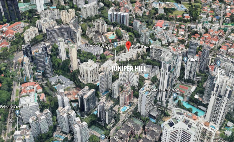 Juniper Hill Location View