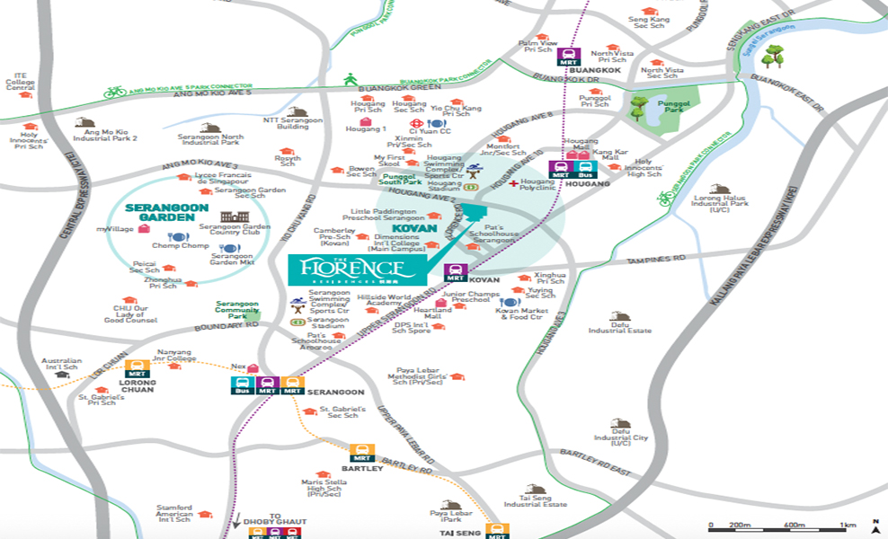 The Florence Residences location-map