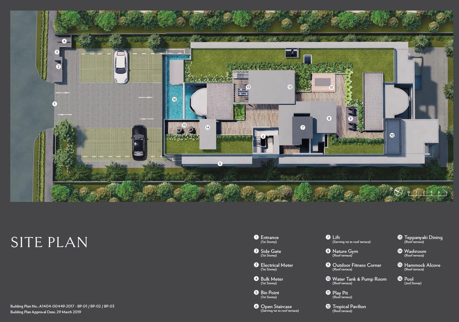 Seraya Residences - Siteplan