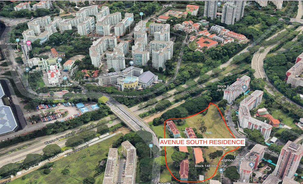 Avenue South Residence site
