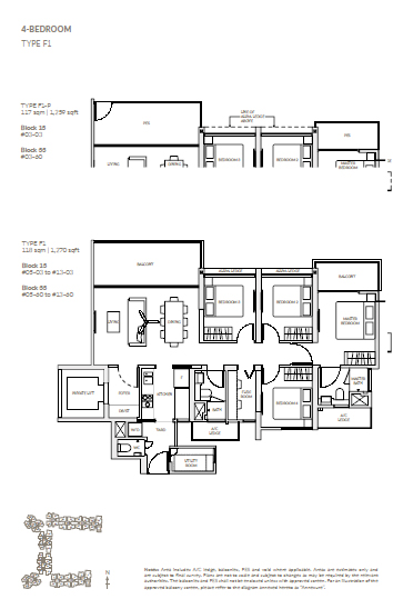 Woodleigh Residences Floor Plan 7 Newlaunchonline Com Sg