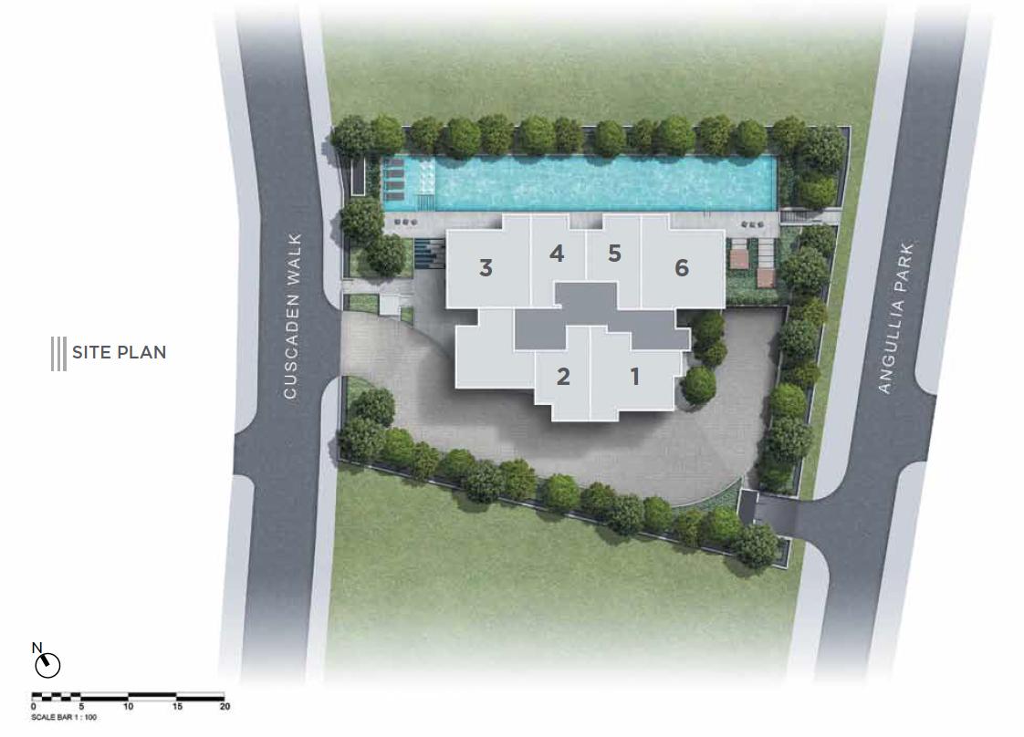3 Cuscaden site plan