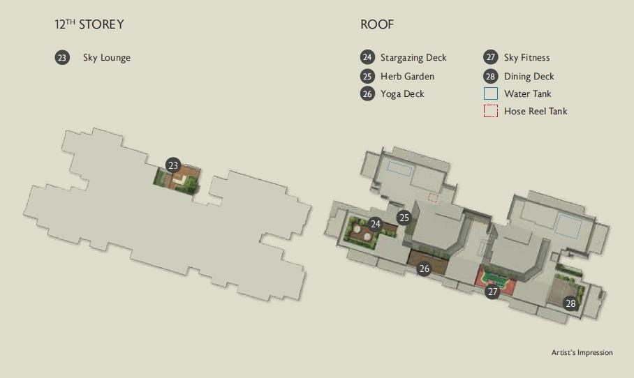 Juniper Hill site plan (level 12)