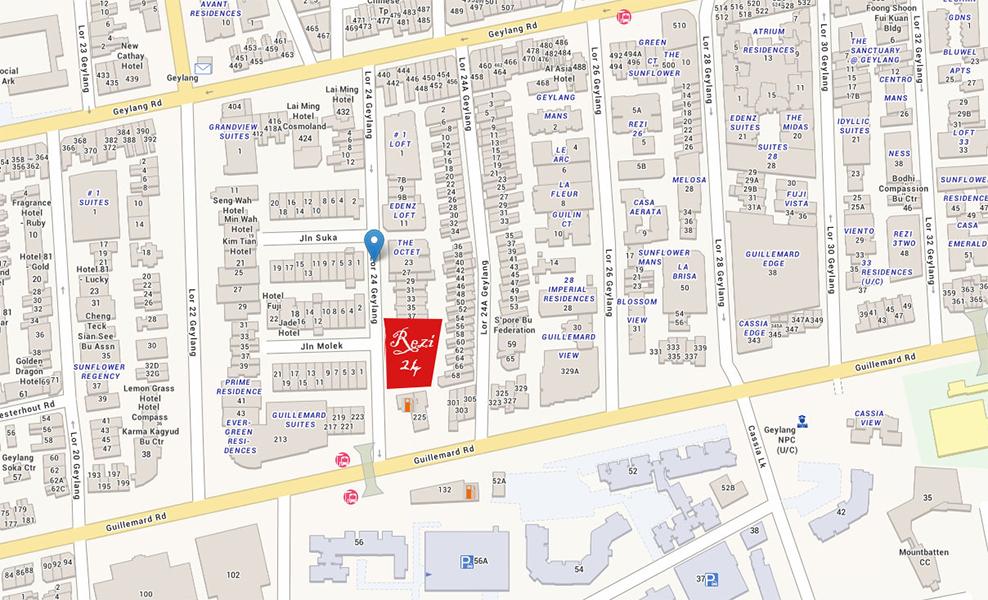 rezi 24 showflat location