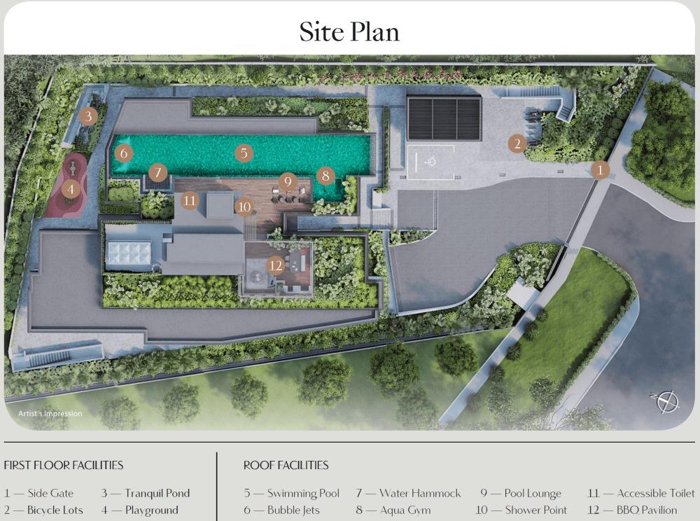 Dunearn 386 Site Plan