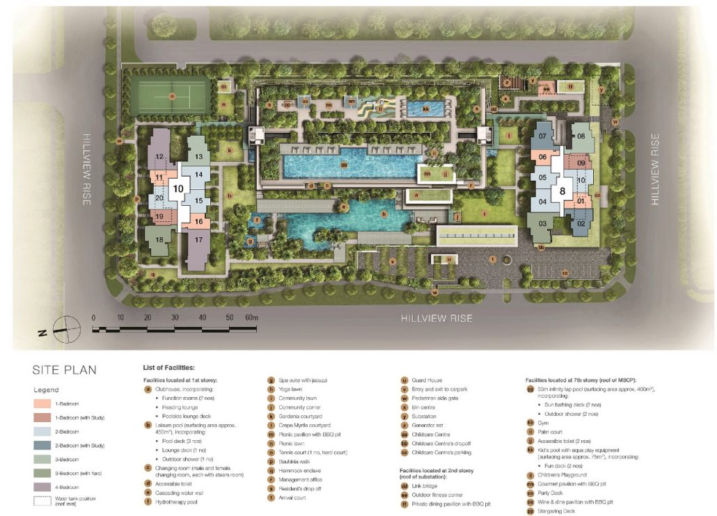 The-Midwood-Singapore SitePlan